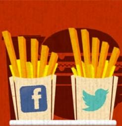 midias sociais bares e restaurantes