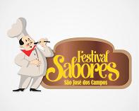 Logo Festival Gastronômico Sabores Sinhores Tec Triade Brasil São José dos Campos