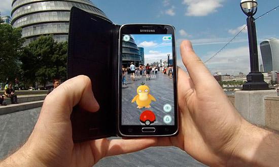 realidade aumentada Pokemon Go
