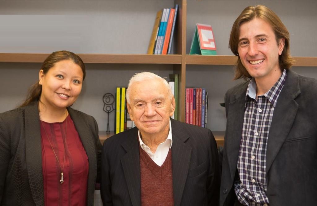 Ozires Silva, Fabiano Porto e Camilla Sagawa celebram novo projeto