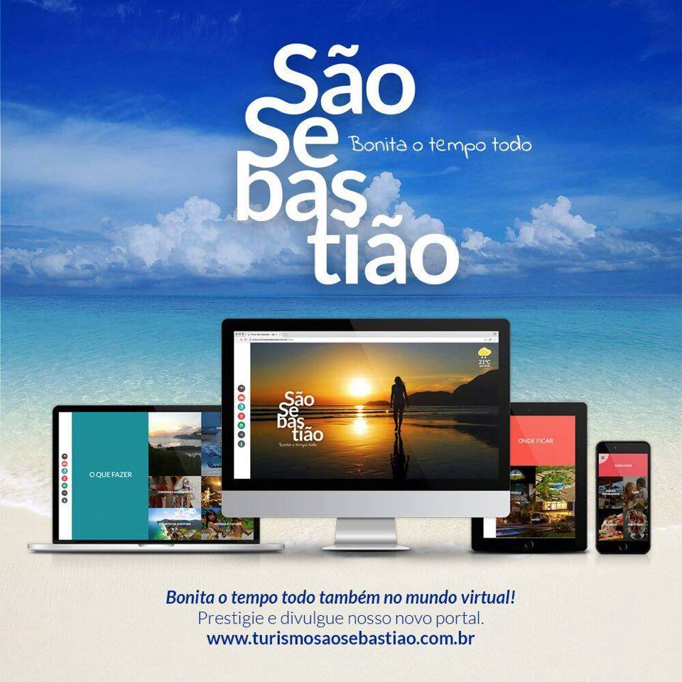 portal turístico sao sebastiao turismo site marketing tec triade brasil turismo do futuro inovacao litoral norte