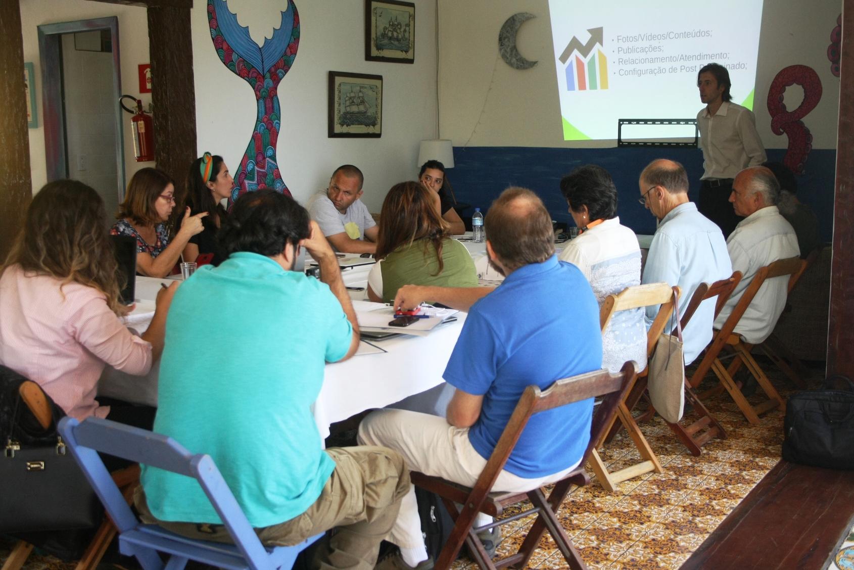 workshop em mídias sociais - para hospedagem - ilhabela - agencia digital tec triade brasil